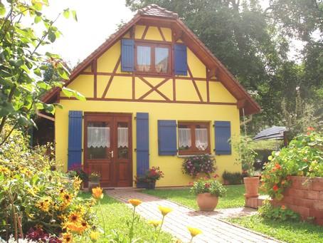 Notre Gîte en Alsace l'été